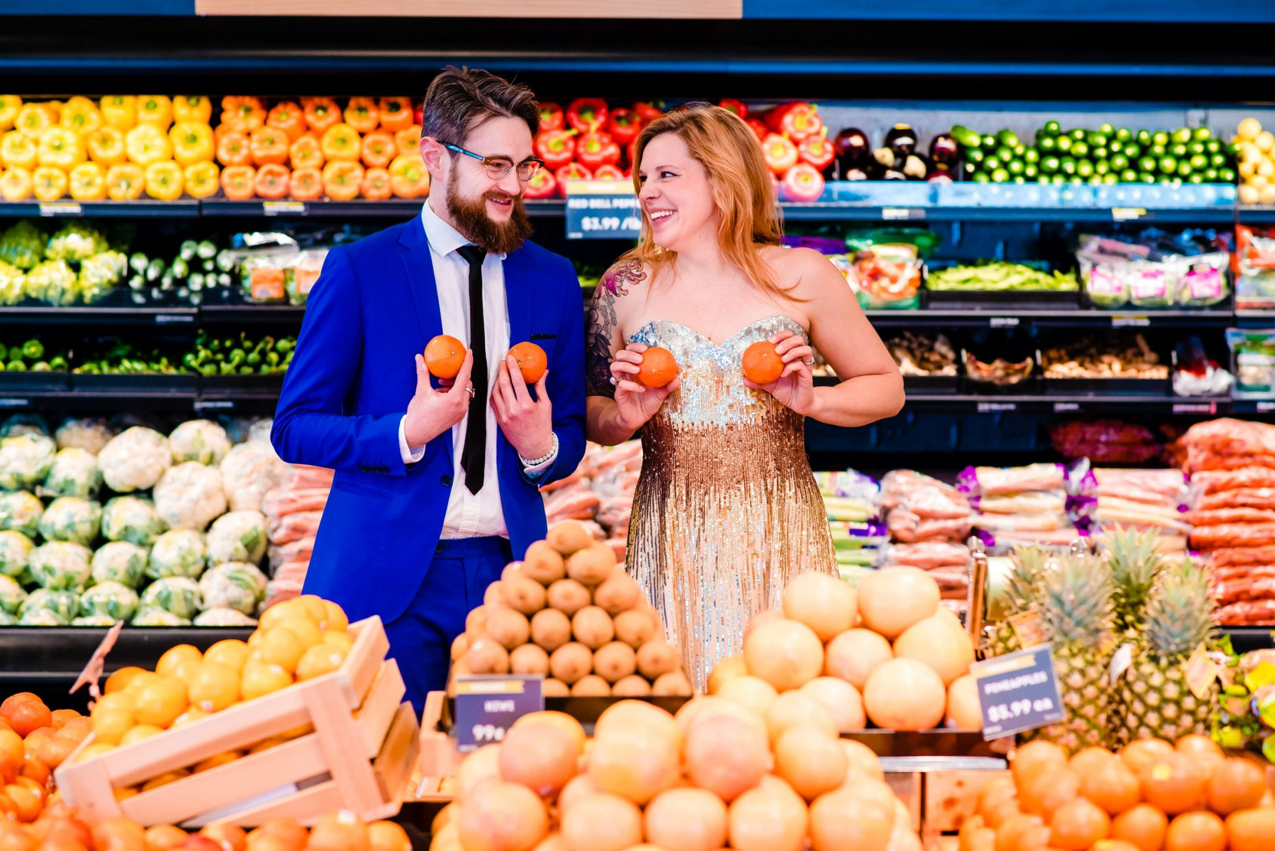 Whole Foods Engagement Photos Minneapolis Minnesota